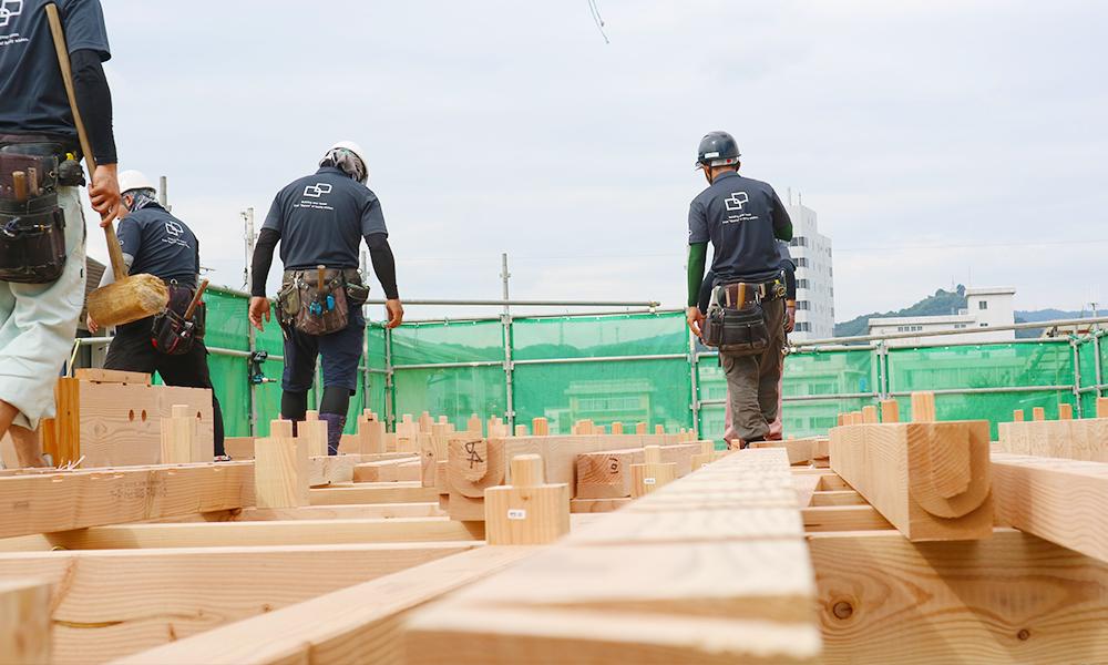 広島の新築工事