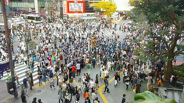 渋谷の交差点