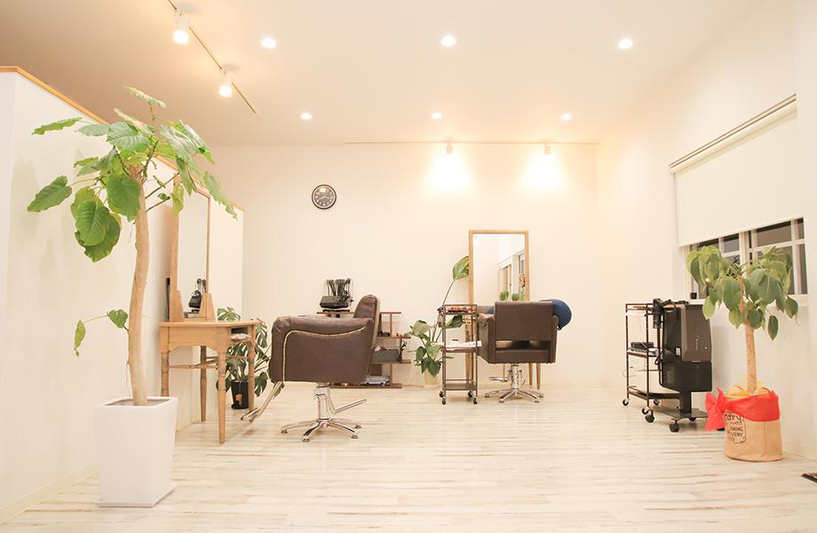 津山の美容室のホームページ