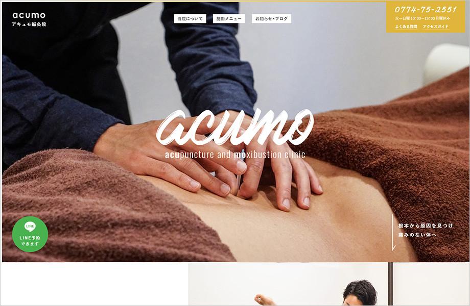 参考にしたい整骨/整体/カイロ/鍼灸院ホームページデザイン