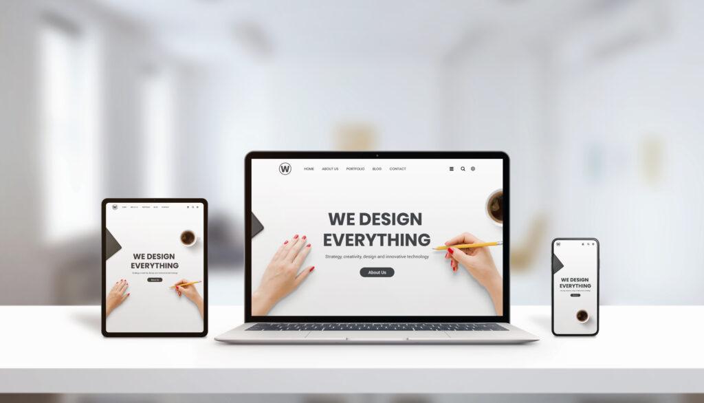 塗装業者のホームページにおけるデザインの重要性